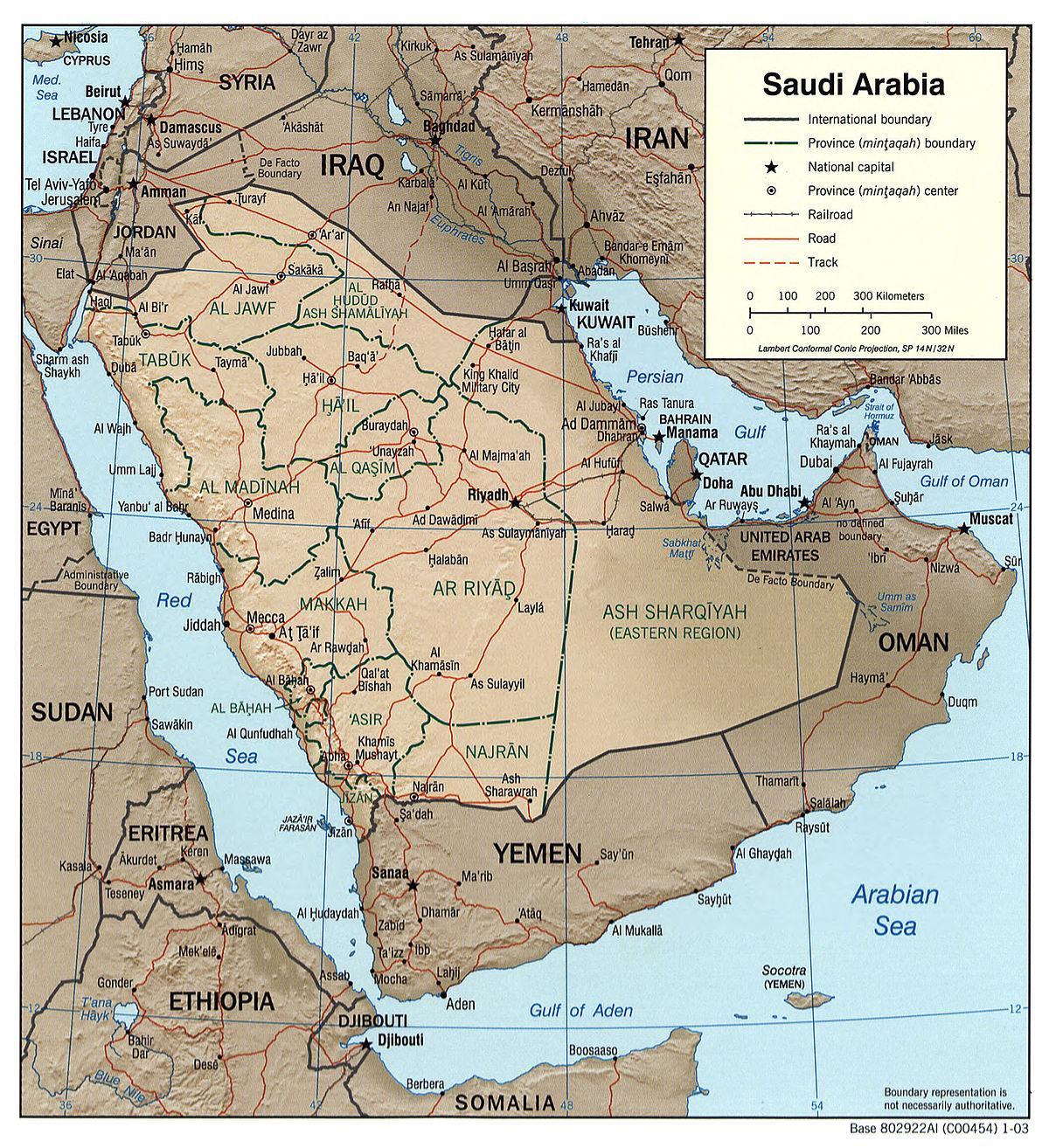 Cartina Asia Occidentale.Arabia Saudita Mappa Fisica Arabia Saudita Geografia Mappa Asia Occidentale Asia