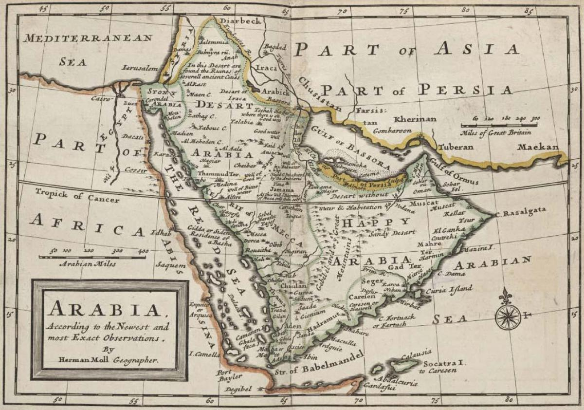 Cartina Asia Occidentale.Antica Arabia Saudita Mappa Cartina Dell Antica Arabia Saudita Asia Occidentale Asia